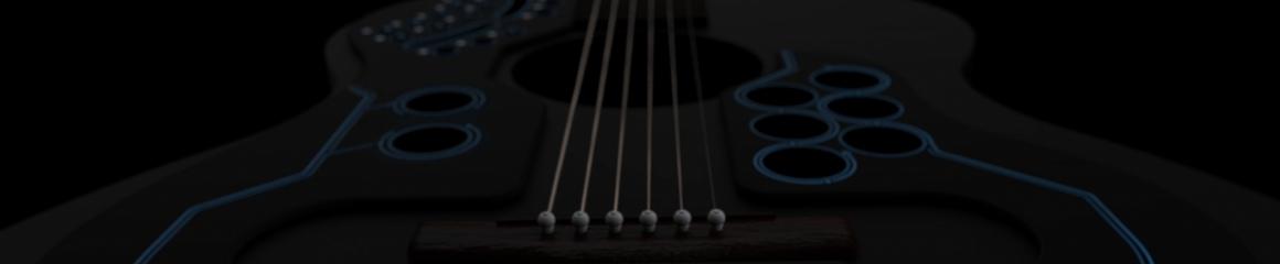 ACPAD - MIDI kontrolér na akustickou kytaru