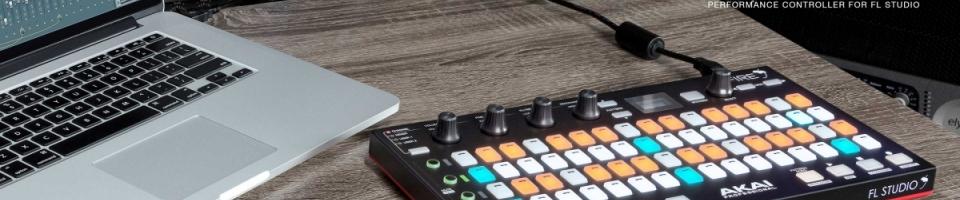 Akai Fire: kontroler pro FL Studio