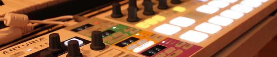 Jak propojit mašinky pomocí MIDI