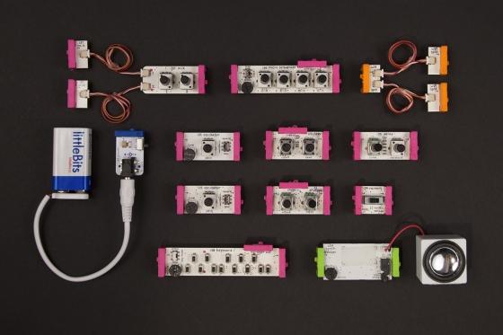 littleBits Synth Kit - vyrobte si vlastní syntezátor