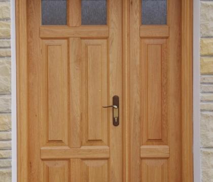 Vchodové protipožární dveře