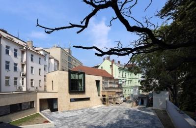 Dům u parku, Olomouc, zdroj fotografie: http://www.dumuparku.cz/