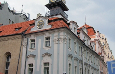 Židovská radnice, Praha, zdroj fotografie: https://commons.wikimedia.org/w/index.php?title=Special:Search&profile=default&fulltext=Search&search=%C5%BEidovsk%C3%A1