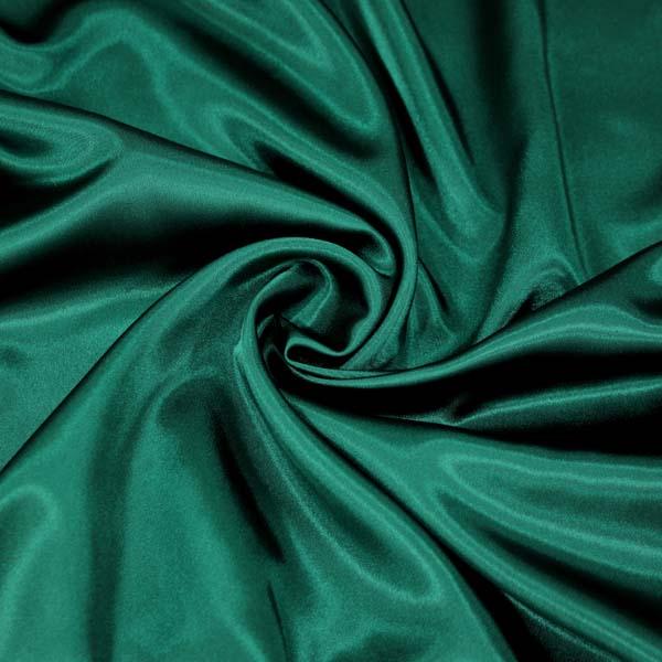 levný zelený satén, výprodej