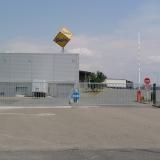 Vjezd do logistického areálu