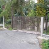 Automatická vjezdová brána