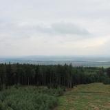 Pohled na Kostelec na Hané