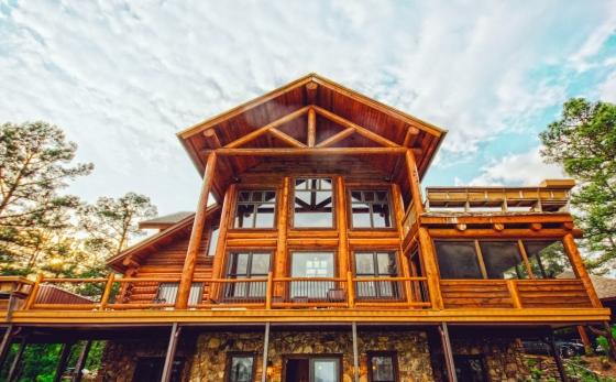 Moderní dřevěný dům