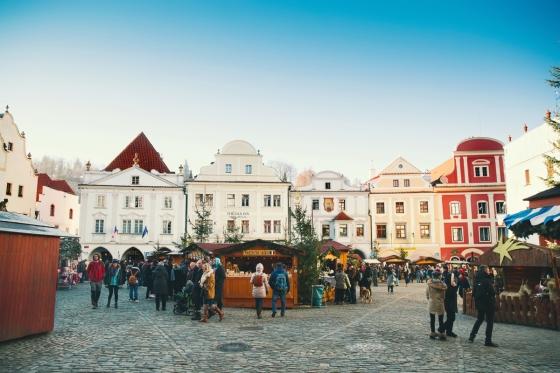Vánoční trhy v Česku