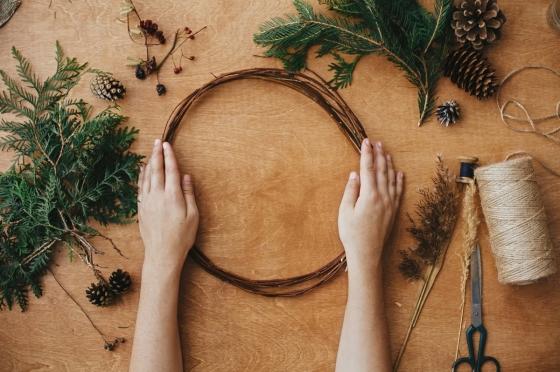 Vyrobte si vlastní dekorace z přírodních materiálů