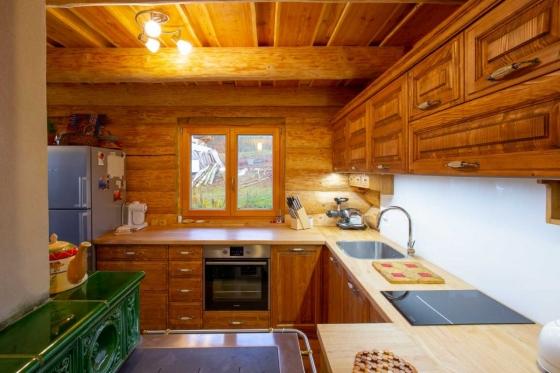 Pohled na stylové zpracování kuchyně, zdroj: archiv společnosti UNIS-N