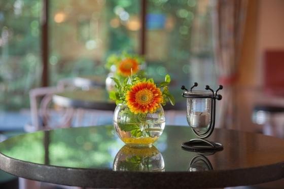 Čerstvé květiny provoní interiér a vnese do něj příjemnou atmosféru.