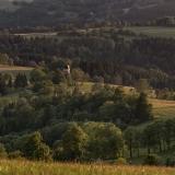 Pohled ze Studeného vrchu.