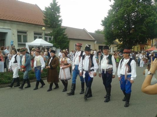 Na začátku nás vítalo 9 starostů horňáckých obcí