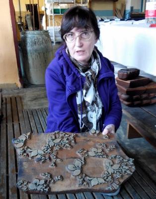 Strážnická dílna má nyní v archivu asi 200 dřevěných forem