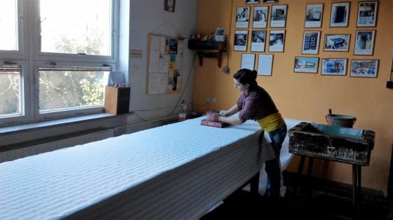 Strážnický modrotisk: Rodinná dílna Jochových pokračuje ve více než stoleté tradici