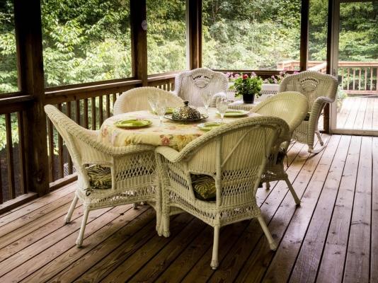 Zasklenou verandu využijete v jakémkoliv v ročním období.
