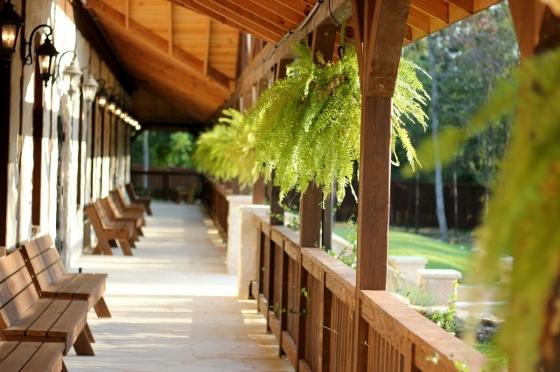 Veranda jako místo pro odpočinek a společenské střetávání se.