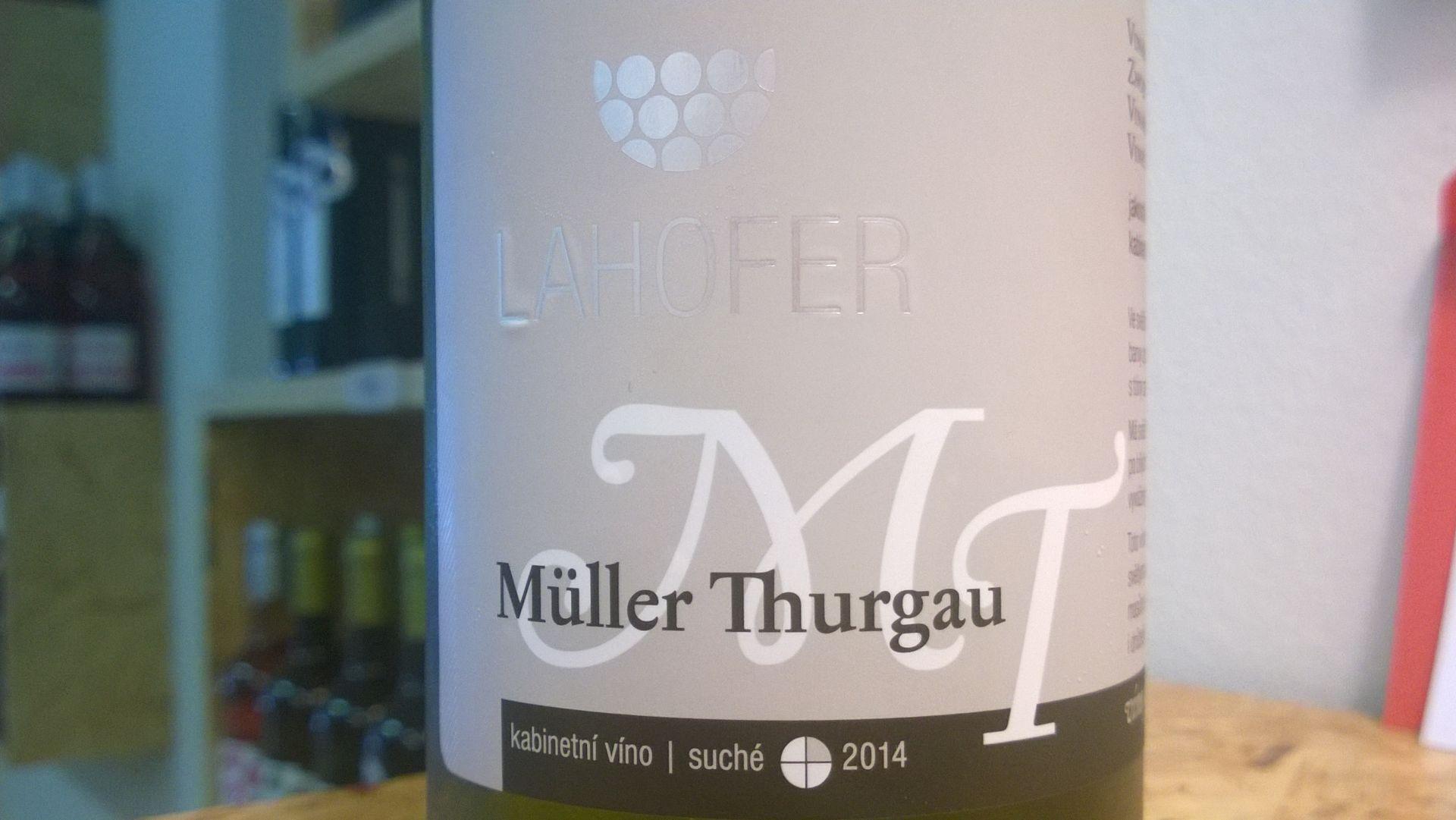 Müller Thurgau 2014 kabinet Lahofer