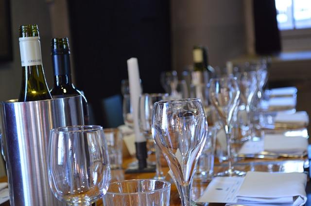 Víno na svatbě