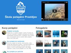 Náhled reference: Škola potápění Ostrava