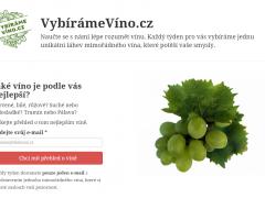 Náhled reference: VybírámeVíno.cz