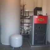 Realizace topení s akumulační nádobou