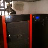 Montáž kotle na pevná paliva (video)