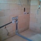 Instalace na hrubé stavbě