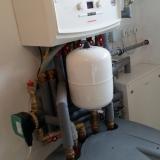 Instalace kondenzačního kotle pro kombinované topení (video)