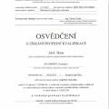 Reference: Profesní kvalifikace - topenář,montér kotlů na biomasu (36-149-H)
