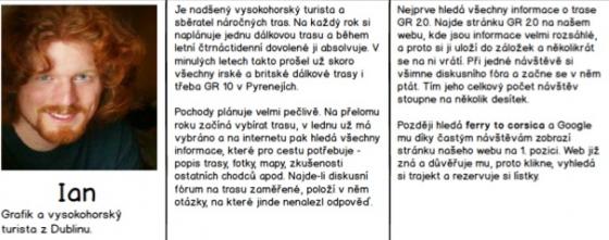 Příklad správně sestavené persony, zdroj: Marek Prokop