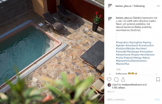 Instagram Kámen PLUS