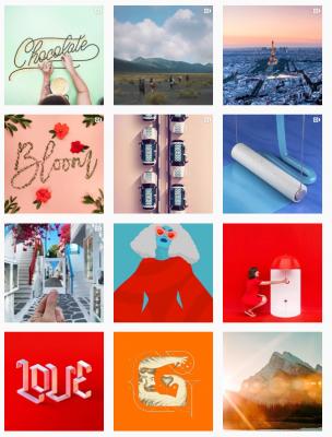 Jednou z možností, jak získat obsah pro své sociální sítě, je zapojit své uživatele. Zdroj: Instagram.com/Adobe
