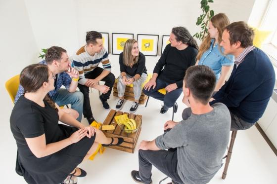 Brainstorming agenturního týmu Optimal Marketing