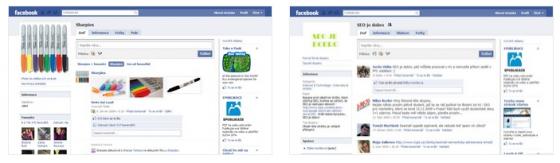 Facebook Page a Facebook Group vypadají na první pohled stejně