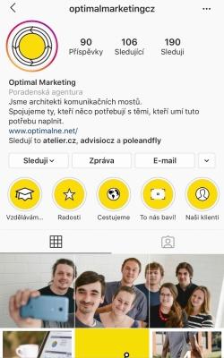 Instagram Optimal Marketing