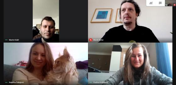 Dnešní operativní prorada na Google Hangouts Meet
