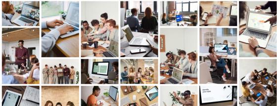 """Při zadání klíčového slova """"office life"""" se vám v jakékoliv fotobance zobrazí podobné výsledky – neosobní, nahrané, klišé fotografie neznámých lidí, kteří vypadají až moc dokonale na to, aby se s nimi publikum nějakým způsobem ztotožnilo."""