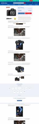 Na e-shopu pro experty můžete popis produktu rozvinou klidně na několik stran. Velmi pěkným příkladem je megapixel.cz.