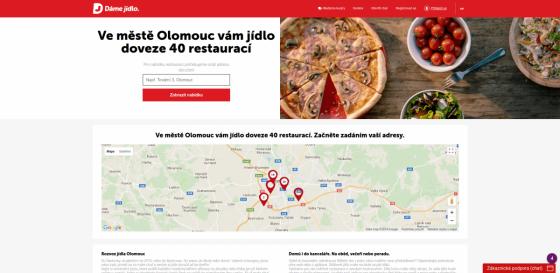 Landing page zaměřená na lokaci
