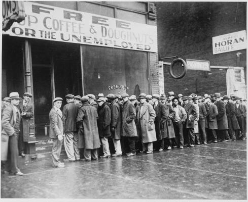 Velká hospodářská krize ve 30. letech a byla největší ekonomickou krizí 20. století