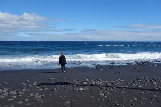 Kouzelné černé pláže na Tenerife