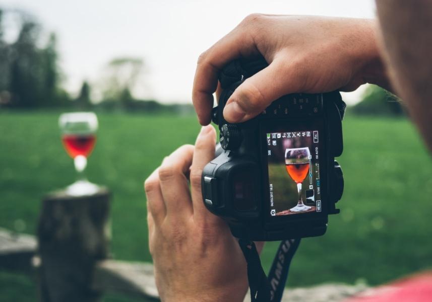 fotografování webů