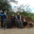 Pomoc při úklidu kolem přehrady