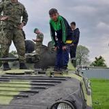 Vojáci baví DD, Hranice 2019