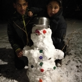 Soutěž o nejveselejšího sněhuláka