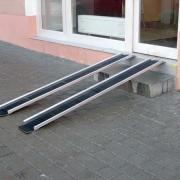 Duralové rampy (ližiny)