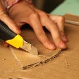 Tvorba masek z paper-mache