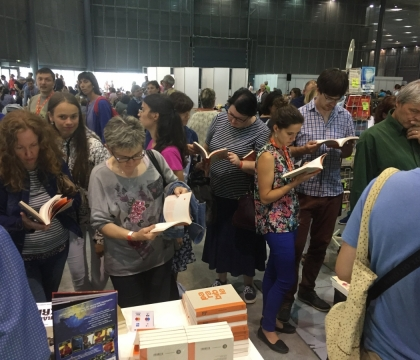 500 books sold at Czech Catholic Charismatic Conference